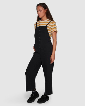 1 Shoutout Jumpsuit Black R407752 RVCA
