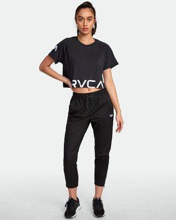 5 VA Short Sleeve Tee Black R407874 RVCA