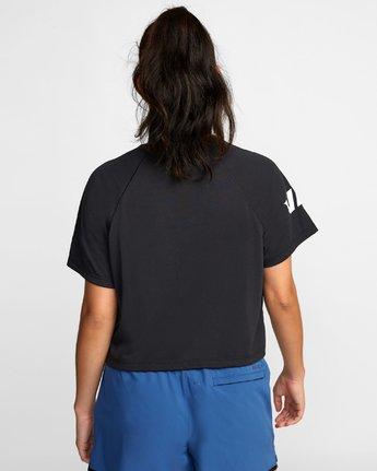 2 VA Short Sleeve Tee Black R407874 RVCA
