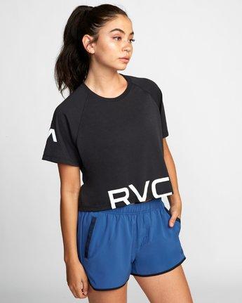1 VA Short Sleeve Tee Black R407874 RVCA