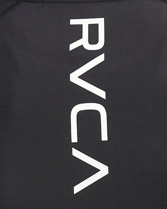 8 COMPRESSION LONG SLEEVE TEE Black R407882 RVCA