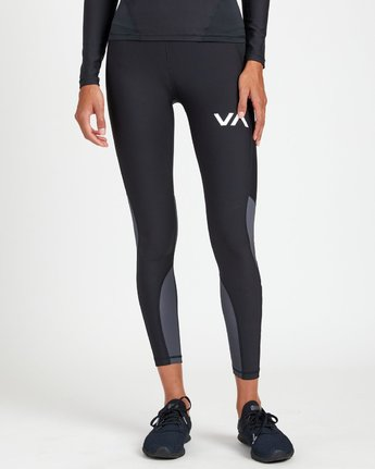 0 COMPRESSION LEGGING Black R407883 RVCA