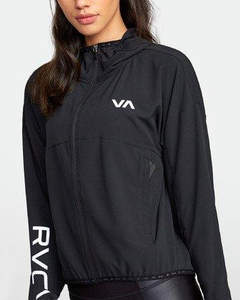 4 Yogger Jacket Black R407891 RVCA