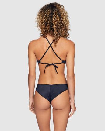 3 Solid Crossback Bikini Top Black R408650 RVCA