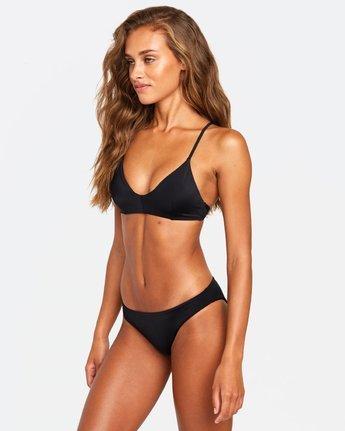 8 Solid Crossback Bikini Top Black R408650 RVCA