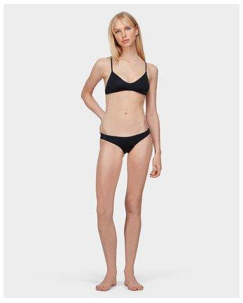 5 Solid Cheeky Bikini Pant Black R471804 RVCA