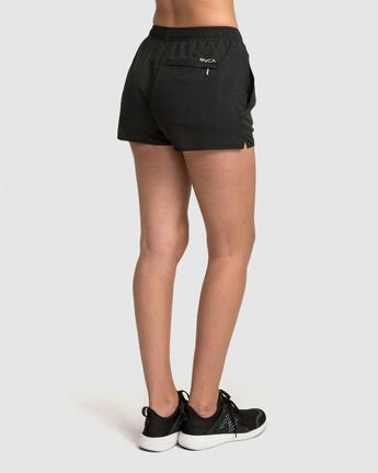 2 Womens Yogger Short Black R481316 RVCA