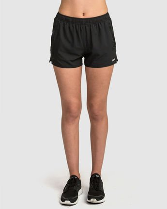 0 Womens Yogger Short Black R481316 RVCA