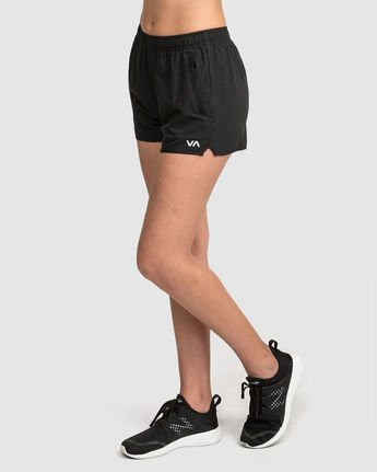 1 Womens Yogger Short Black R481316 RVCA