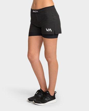 1 Grappler Short Black R481317 RVCA