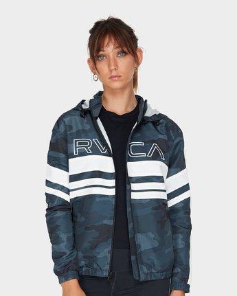 0 Va Team Jacket Camo R481431 RVCA