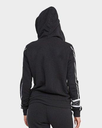 1 Tycho Fleece Hoodie Black R482151 RVCA