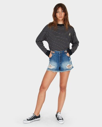 5 The Bf Short Blue R484311 RVCA