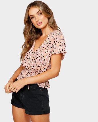 2 Farren Short Sleeve Shirt Brown R491183 RVCA