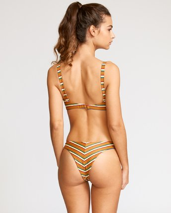 1 Retro Row French Bikini Bottom Brown R491822 RVCA