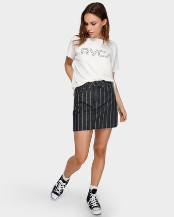 6 Rowdy Mini Skirt Black R491832 RVCA