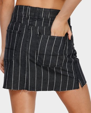 5 Rowdy Mini Skirt Black R491832 RVCA