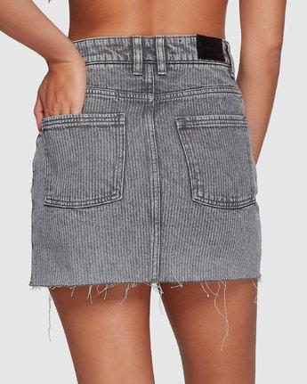 4 Siena Skirt Grey R491833 RVCA