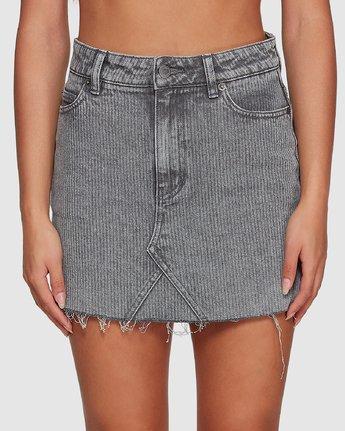 3 Siena Skirt Grey R491833 RVCA
