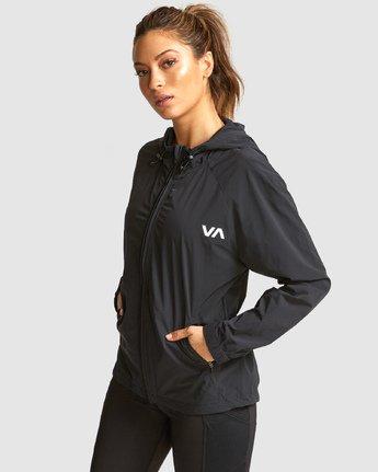 2 Flux Tech Jacket Black R491879 RVCA