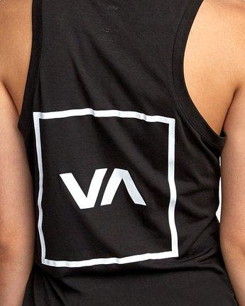 3 VA Muscle tee Black R492873 RVCA