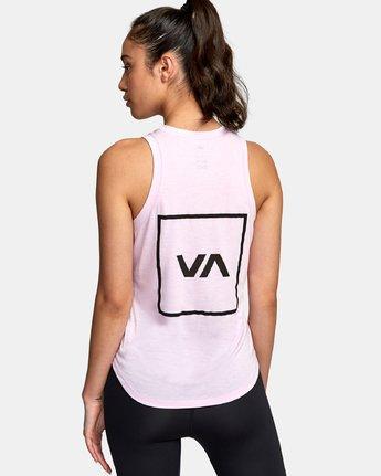2 VA Muscle tee Pink R492873 RVCA