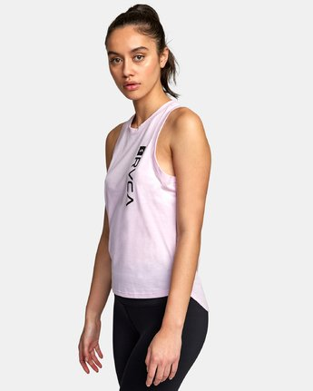1 VA Muscle tee Pink R492873 RVCA