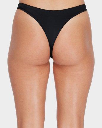 4 Solid Skimpy Bikini Pant Black R493802 RVCA