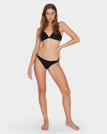 5 Solid Bralette Bikini Top Black R493805 RVCA