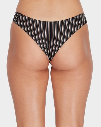 4 Amalfi Revo Cheeky Bikini Pant Black R493877 RVCA