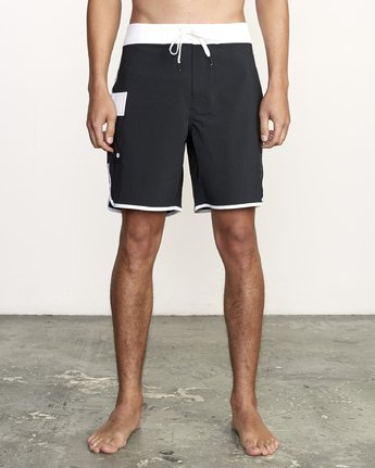 "1 Eastern Trunk 18"" - Board Shorts for Men Black S1BSRBRVP0 RVCA"