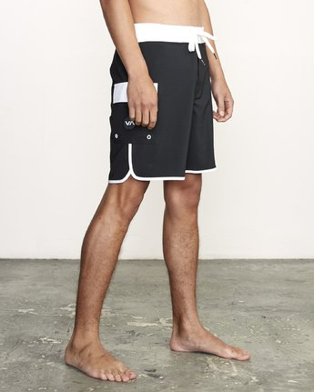 "6 Eastern Trunk 18"" - Board Shorts for Men Black S1BSRBRVP0 RVCA"