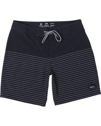 "Curren Trunk 18"" - Striped Board Shorts for Men  S1BSRCRVP0"