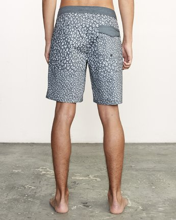 "4 Arroyo Trunk 19"" - Printed Board Shorts for Men Black S1BSRGRVP0 RVCA"