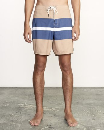 "Westport Trunk 16"" - Striped Board Shorts for Men  S1BSRIRVP0"