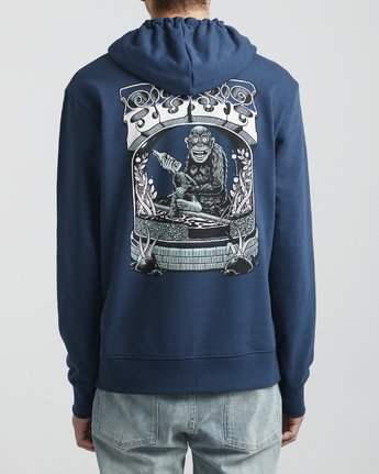5 Martin Ander - Hoodie for Hoodie Blue S1HORFRVP0 RVCA