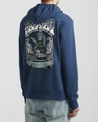 4 Martin Ander - Hoodie for Hoodie Blue S1HORFRVP0 RVCA