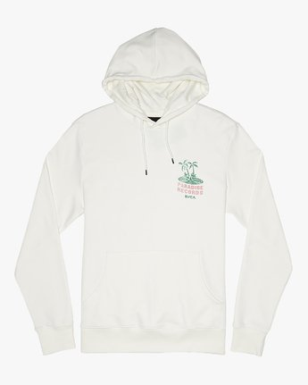 1 Paradise Records  - Hoodie for Hoodie White S1HORKRVP0 RVCA