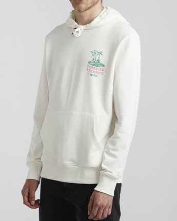 3 Paradise Records  - Hoodie for Hoodie White S1HORKRVP0 RVCA