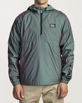1 Hazed Zip  - Lightweight Iridescent Jacket for Men  S1JKRFRVP0 RVCA
