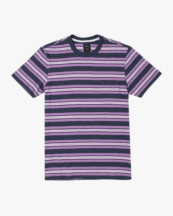 0 Damian - Striped T-Shirt for Men  S1KTRARVP0 RVCA