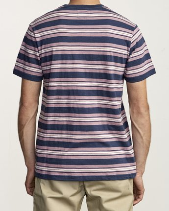 2 Damian - Striped T-Shirt for Men  S1KTRARVP0 RVCA