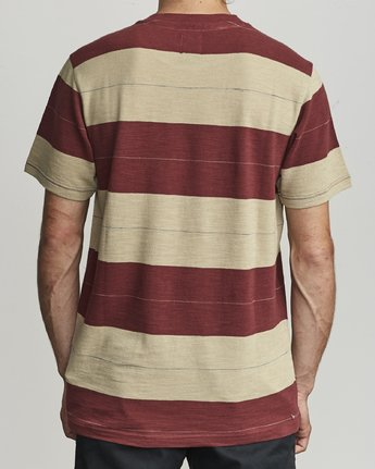 2 Rumble - Striped T-Shirt for Men  S1KTRBRVP0 RVCA
