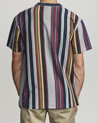 2 Cairo Vertical - Vertical Striped T-Shirt for Men  S1KTRCRVP0 RVCA