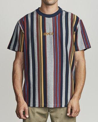 1 Cairo Vertical - Vertical Striped T-Shirt for Men  S1KTRCRVP0 RVCA