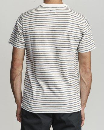 2 Runaway - Striped T-Shirt for Men White S1KTRDRVP0 RVCA
