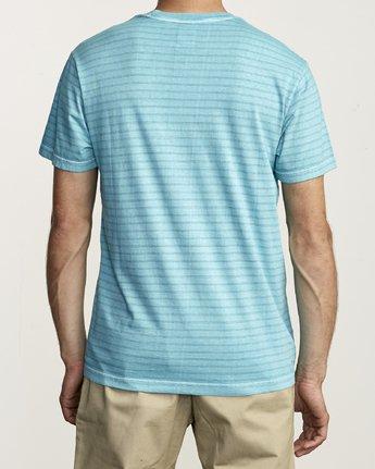 2 Ptc Stripe - Striped T-Shirt for Men  S1KTRERVP0 RVCA