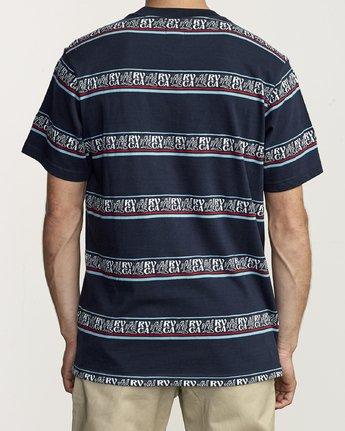 1 Cairo - Striped T-Shirt for Men  S1KTRFRVP0 RVCA