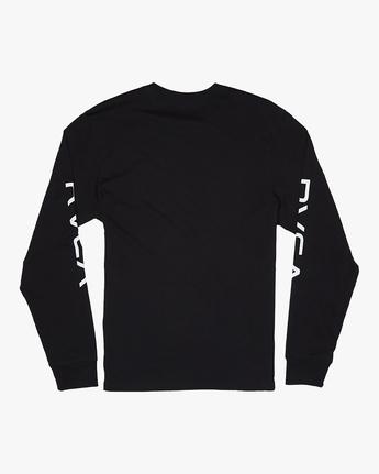 Big RVCA - Long Sleeve T-Shirt for Men  S1LSRARVP0