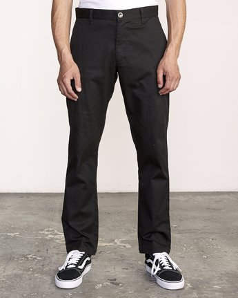 The Weekend Stretch - Woven Trousers for Men  S1PTRFRVP0